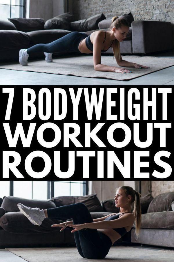 No Equipment Needed: 7 Bodyweight Workout Routine Ideas for Beginners – ZeroFat Fitness | Weight Loss