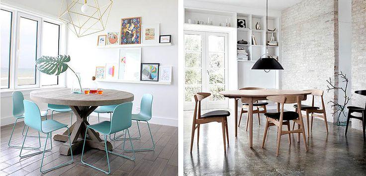 17 mejores ideas sobre comedor redonda en pinterest - Comedores mesa redonda ...