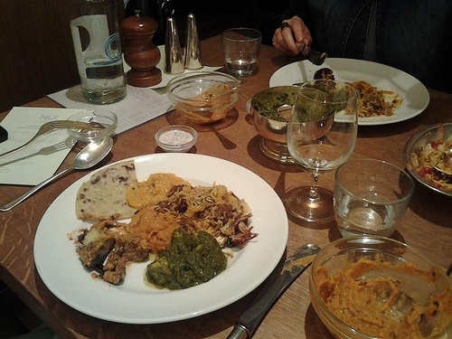 Ravinder Bhogal aka Cook in Boots cooks up a Punjabi feast at Hix