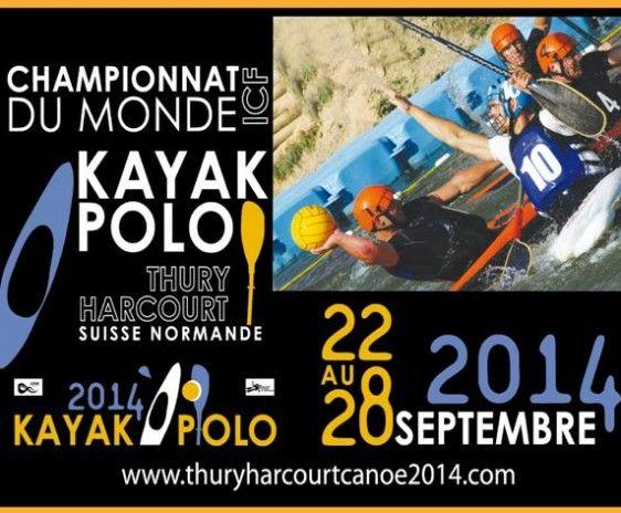 Championnats Du Monde De Kayak Polo. Du 22 au 28 septembre 2014 à Thury-Harcourt.