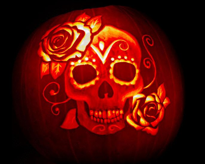 Best dia de los muertos images on pinterest carving