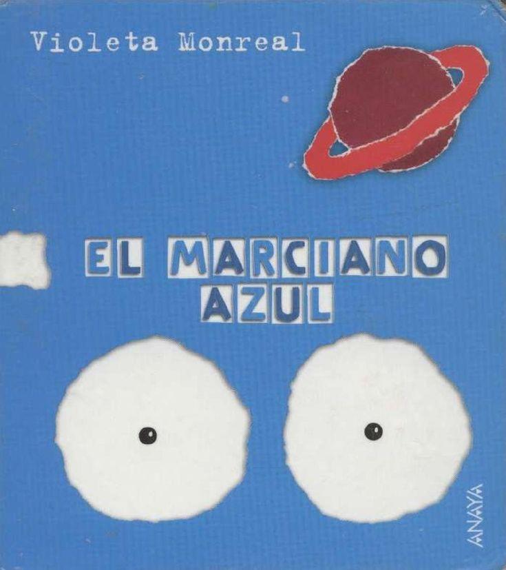El marciano azul  Libros Infantiles