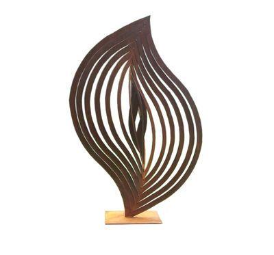 Beautiful Australian Made Abstract 25 Garden Outdoor Sculpture $975.00 #gardenart #gardensculpture