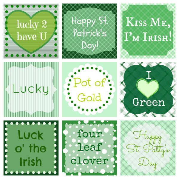 FREE St. Patrick's Day Printable from Food Fun Family- repinned by @PediaStaff – Please Visit ht.ly/63sNt for all our pediatric therapy pins