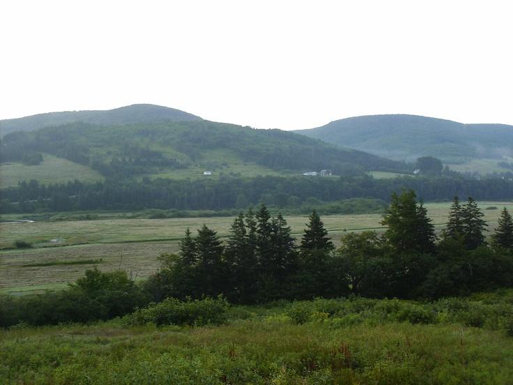 Mountain view in Cape Brenton Nova Scotia