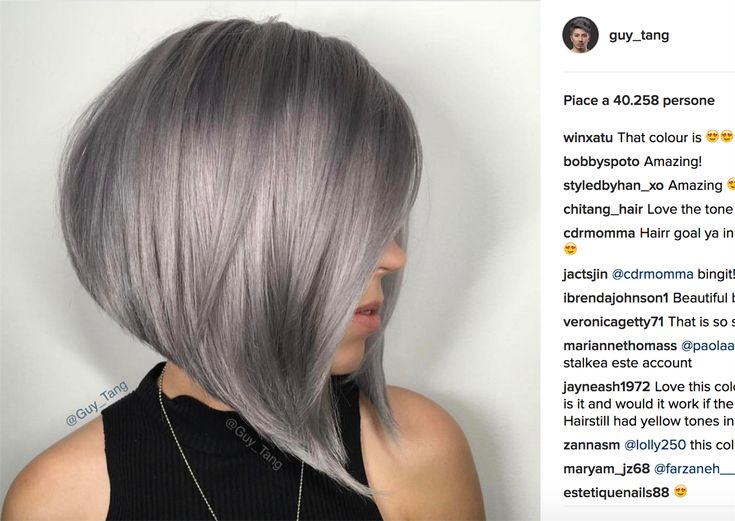 Image result for best ombre greying short bob
