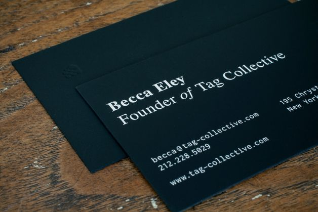 tag collective; best business cards