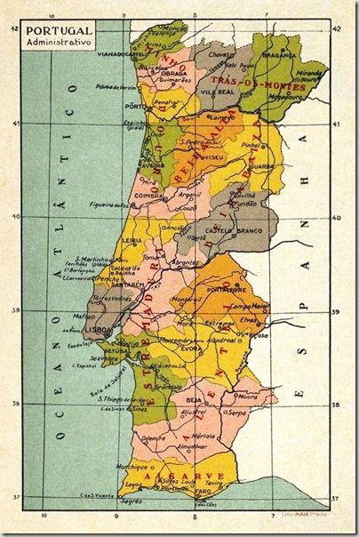Mapas utilizados nas escolas primárias
