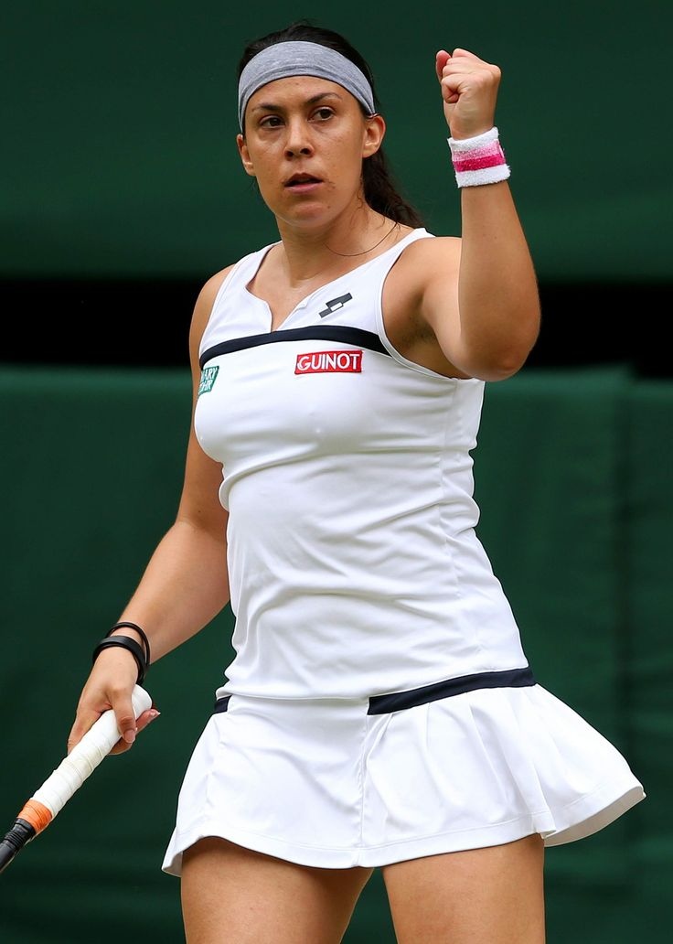 """Marion Bartoli: Wimbledon champ, world-class athlete, and target for body-shaming misogynist dickheads everywhere. She barely even qualifies as a """"big girl"""" (5'7"""" and 135 lbs is not big), but she's taken so much shit for not being a tall, skinny blonde that she definitely deserves a spot on this board. You don't have to be society's definition of fit (read: skinny and model-esque) to do some amazing things with your life."""
