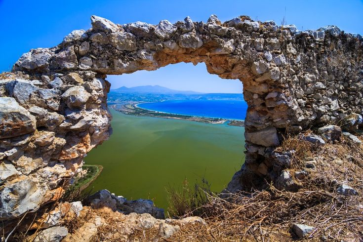 The Gialova lagoon - one of the most important wetlands in Europe, as it constitutes the southernmost migratory station in the Balkans, for birds that migrate to and from Africa. #Greece #Messinia #Terrabook