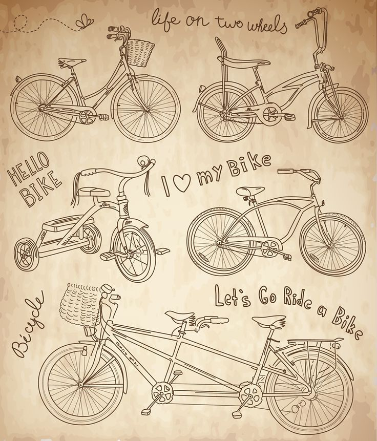 arte-bicicletas-antiguas.jpg (854×1000)