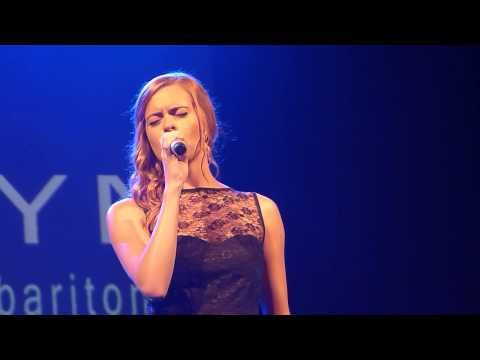 ▶ Sophie Evans 'Out Here On My Own' live Lyric Theatre Carmarthen 17.07.13. HD - YouTube