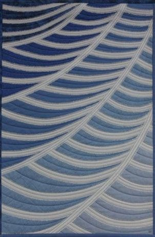"""""""Floating"""" quilt by Dianne Firth"""