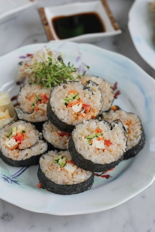 Spicy Tofu Roll - Hip Foodie Mom