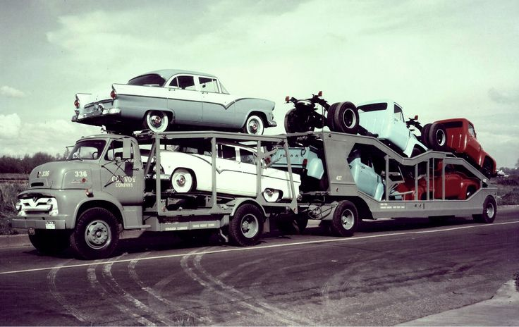 1950 Tow Truck >> 1955 Ford COE Convoy with some 1955 Fords. | Car Haulers & Transportations | Pinterest | Ford ...
