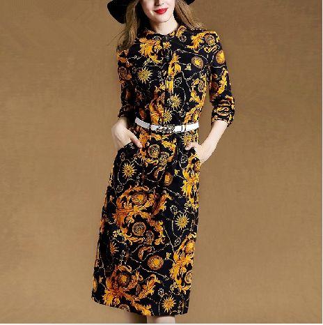 Barato Moda estilo europeu 3/4 Manga Maxi Vestido de 2015 Chegada Nova Mulher Outono Vestido Longo da Cópia Do Vintage Elegante magro lápis Vestidos, Compro Qualidade Vestidos diretamente de fornecedores da China: [xlmodel]-[produtos]-[6421][xlmodel]-[produtos]-[6421]Itens buscados[xlmodel]-[custom]-[6424][xlmodel]-[custom]-[6424][x