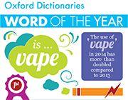 2014-ben az év szava a VAPE