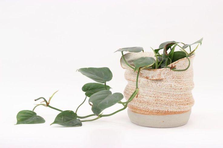 Planter | 17cm | Bag Planter in Shino