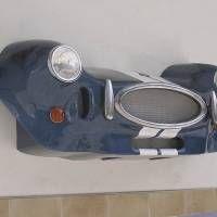 Frontal Shelby Cobra. Vista 3