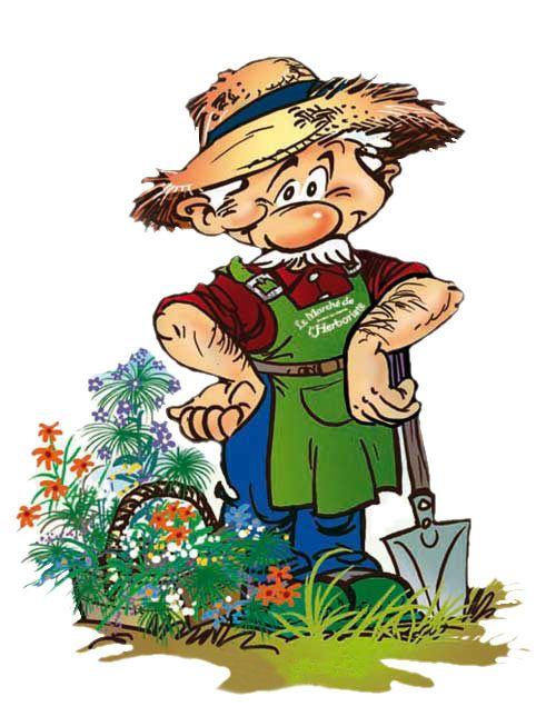 Les 25 meilleures id es de la cat gorie dessins - Dessin jardinier humoristique ...