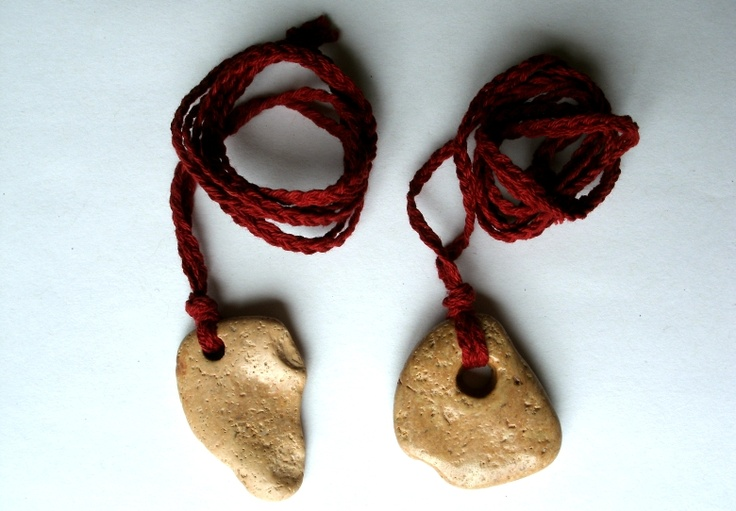 Naturally-holed stones (called mare stones, hag stones, witch stones, or holey stones) are worn to protect from nightmares, the Mara, to bless holy water, to see spirits, and to aid in hedgecrossing and spirit work as well as protect you while doing so.