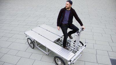 Lastenräder: Ein Rad wird zum Büro