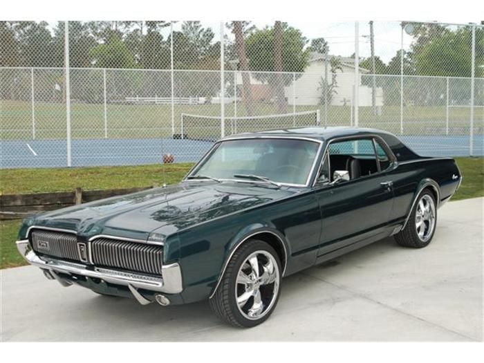1967 Mercury Cougar Xr7 Cougar Cousin Of The Mustang