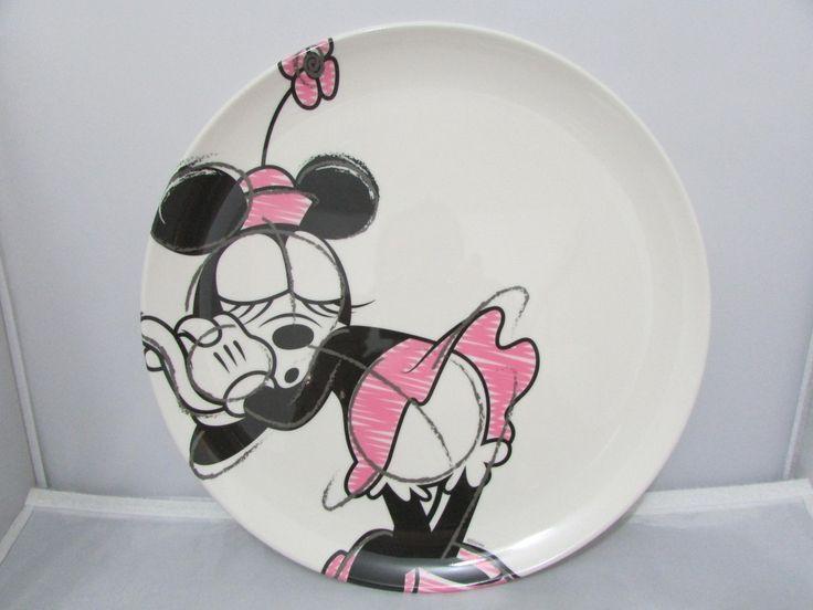 Prato Raso Da Minnie - Disney Store - R$ 45,00 no MercadoLivre