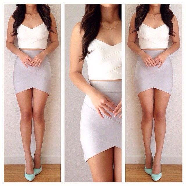 Best 25  Bandage skirt ideas only on Pinterest | Vegas day outfit ...