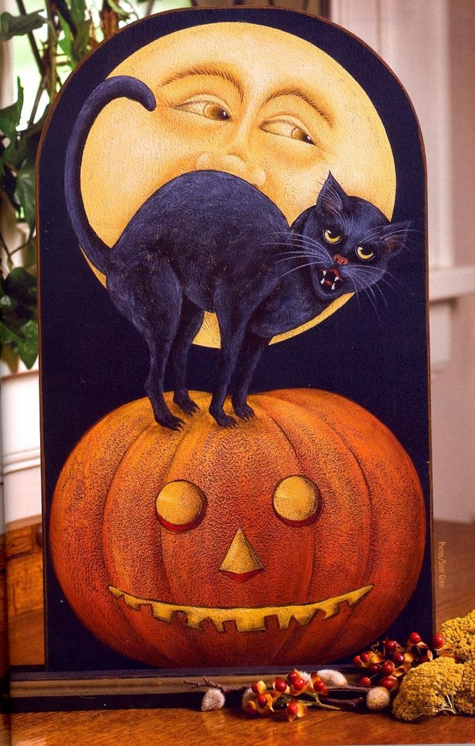Carol Payne: Halloween Decor, Halloween Tole Painting, Carol Payne, Hallows Eve, Halloween Crafts, Folk Artists, Decor Painting, Halloween Art, Artsy Painting Items