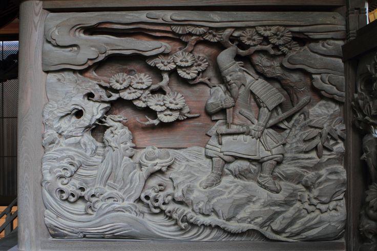 堂宮彫刻写真美術館 青野原諏訪神社
