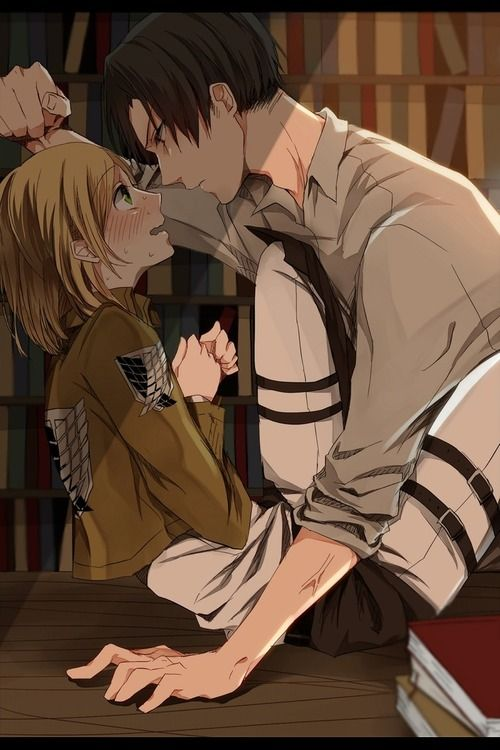 Levi x Petra I just love this ship...this ghost ship T.T