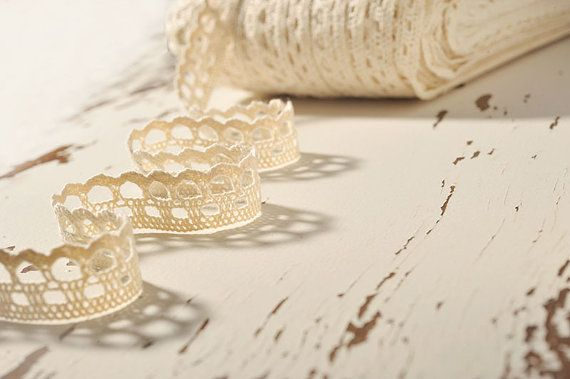 Crochet Lace Ribbon Lace Trim Crochet Ribbon by CraftWanted