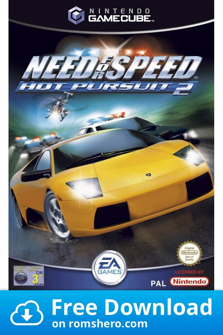 Download Need For Speed Hot Pursuit 2 Gamecube Rom In 2020 Need For Speed Need For Speed Cars Ok Game