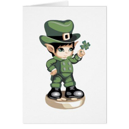 "Cute St Patrick's Day Card .""See a Clover""  $3.15  by doveworld373  - custom gift idea"