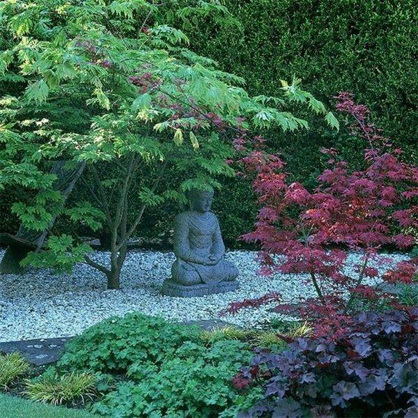 Japonská zahrada ozdobné ryby exotické zen Villa