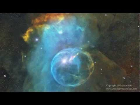 VIDEO - Bubble Nebula. Generated by a compilation of authentic NASA Hubble Satellite photos.   WOOOOOW!!!!
