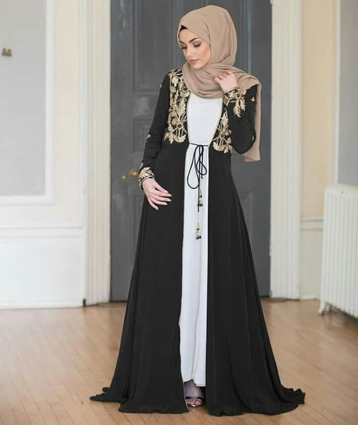 Pin By Hadia Hashimy On Hijabs Abaya Designs Abayas Fashion Abaya Fashion
