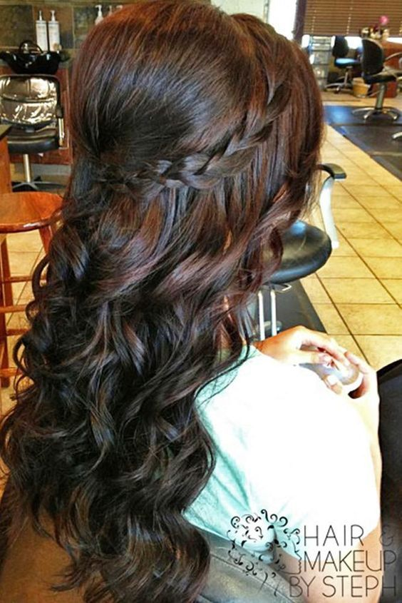 60 Prom Hairstyles For Long Hair Delicadeza 15 Anos E Penteados