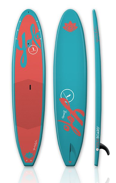 I want it... haha 2014 YOLO Coastal Cruiser 12' - CORAL #SUP