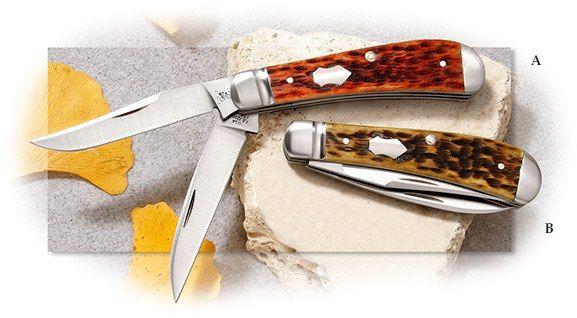 Case® Tony Bose Wharncliffe Trapper Antique Bone
