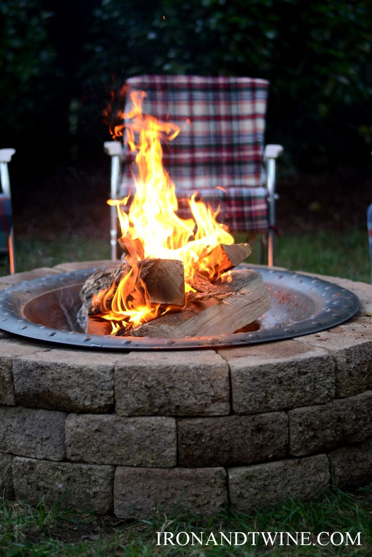How To Build A Fire Pitthe Handmade Home Craft Projects