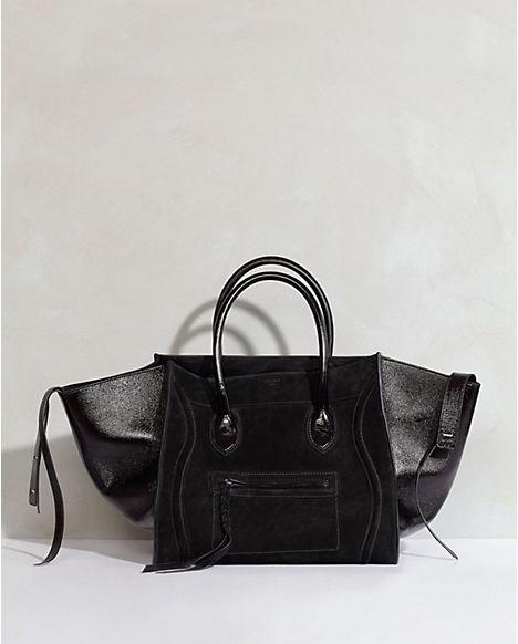 Celine Luggage Phantom. Vernice and suede. \u0026lt;3 | Carry Essentials ...