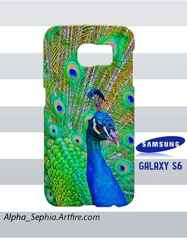 Peacock Samsung Galaxy S6 Case Cover Hardshell