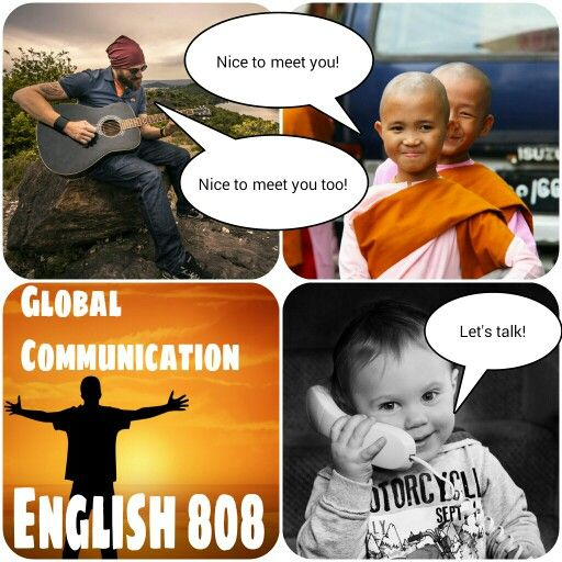 Let's come together with English!