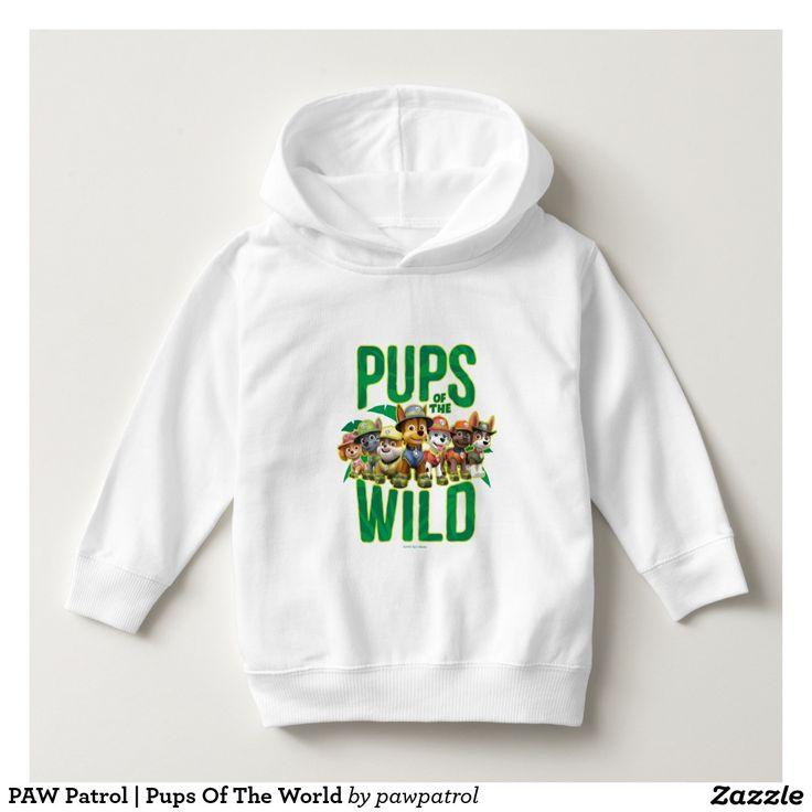PAW Patrol | Pups Of The World. Puppy, dog lover. Baby, bebé. Producto disponible en tienda Zazzle. Vestuario, moda. Product available in Zazzle store. Fashion wardrobe. Regalos, Gifts. #camiseta #tshirt