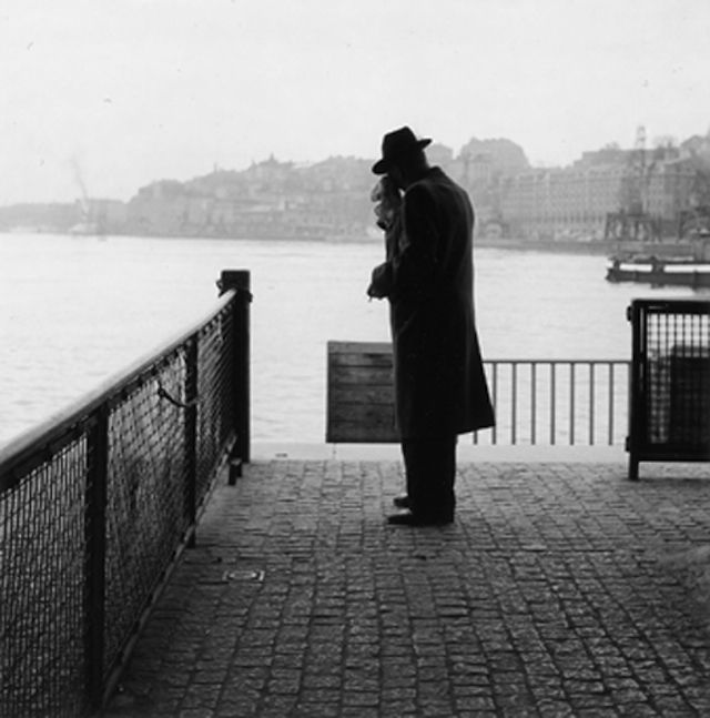 Stockholm 50s Black and White Photography-7