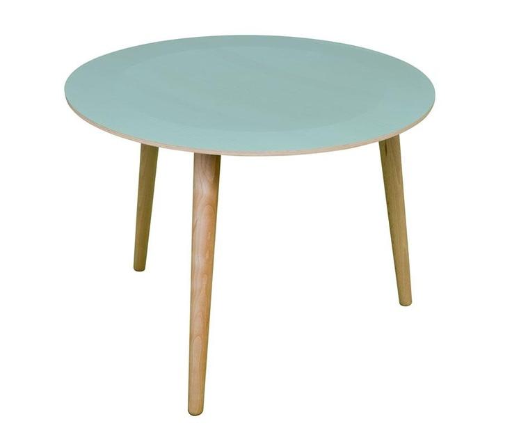 Mobilier et déco, Tables, Tables basses, Table basse en bois La_Bruna - Vert d'eau