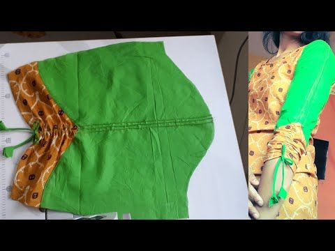 aacb55a07358a Very Beautiful Sleeves Design Easy cutting and stitching with New Kriti  Boutique - YouTube