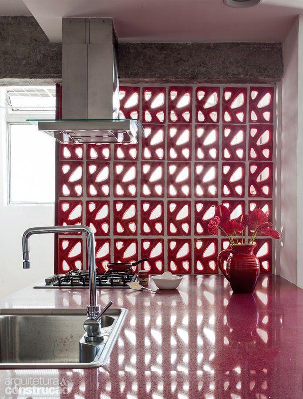 cursos de decoracao de interiores em novo hamburgo : cursos de decoracao de interiores em novo hamburgo:1000 ideias sobre Tijolos Vazados no Pinterest
